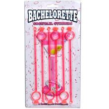 Bachelorette Cocktail Stirrers