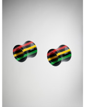 Rasta Tunnel Plugs