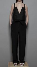 Watz Trouser - Black Crepe