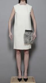 Segur Dress - Ivory Angora