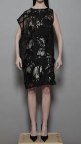 Balsam Embroidered - Black/Rose