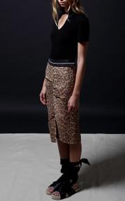 Pier Skirt - Leopard