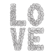 L-0-V-E tracking your progress with these 100 swirls!