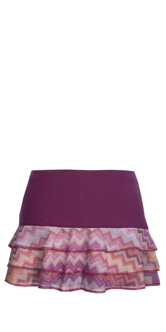PT0745 in Plum CHevron