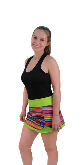 Lolita Skirt in Sweet Stripes