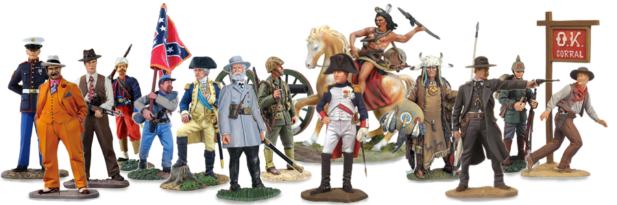 W Britain, Black Hawk, Collectors Showcase Metal Toy Soldiers