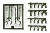Herpa 1053 - 1/87 Wheel Chocks & Lashing Chains