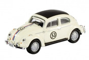 Schuco Diecast - HO Disney Volkswagen Beetle Herbie #53 Rally Car Built Model