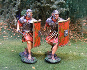 Roman Advancing - Hand Painted Metal Toy Soldiers