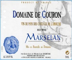 Domaine De Couron Marselan