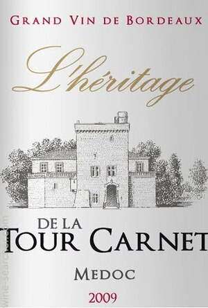 L'Heritage de la Tour Carnet 2010 Haut Medoc