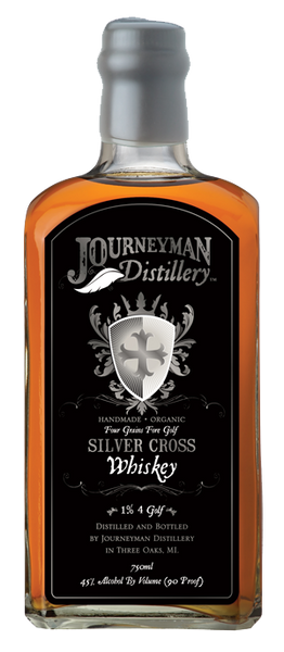 Journeyman Silver Cross Four Grain Whiskey