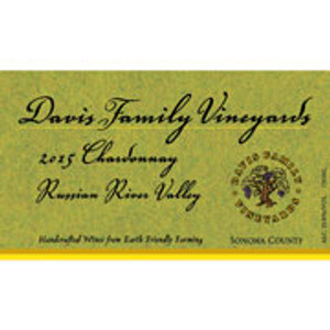 Davis Family Vineyards Chardonnay 2015