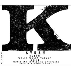 K Vintners Klein 2014