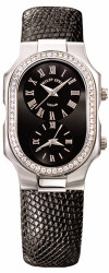 Philip Stein - Large Diamond Case, Classic Black Dial