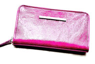 CHRISTINA CASTILLO - Candy Colors leather original Wallet or Clutch (Pink)