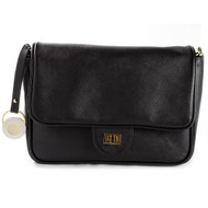 CHRISTINA CASTILLO - The ipad/tablet  Patent Leather Dauphine Clutch (Black)