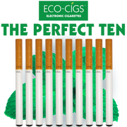 Eco-Cigs The Perfect Ten  electronic cigarettes