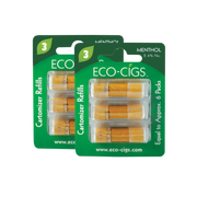 Eco-Cigs Cartridges - 6 Pack