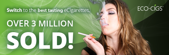 Switch to the best tasting eCigarettes - over 3 million sold