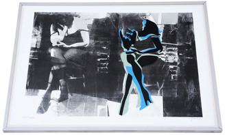 Framed artist's proof original by John Piper painting