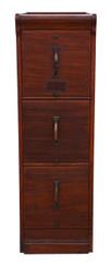 Antique mahogany Globe Wernicke mahogany filing cabinet C1920