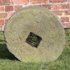Antique small 18th Century mill stone