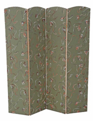 Antique large Victorian reproduction dressing screen