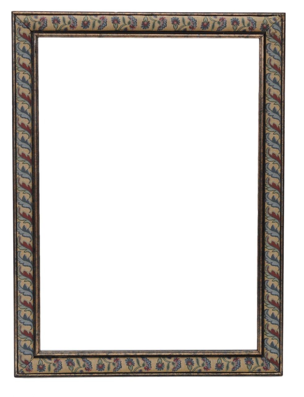 Antique large quality modern fabric wall mirror overmantle for Mirror quality