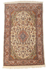 """Antique large quality Persian fine weave wool rug Tree of Life ~ 4' x 8'8"""""""