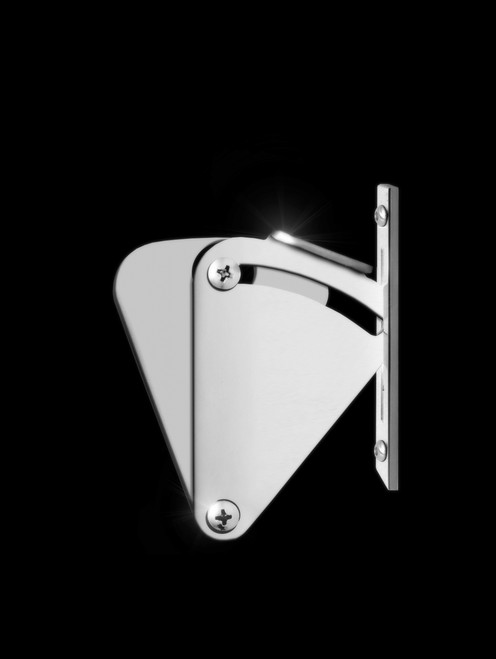 Sliding Barn Door Latch Polished Finish Strongar Hardware
