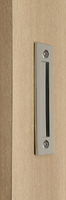 Flush Plate - Door Handle (Polished Finish)