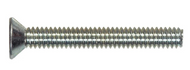 Handle Screws, 3 pack - up to 4-1/4 inch thick Door - Fully threaded Phillips Flat Head Machine Screw