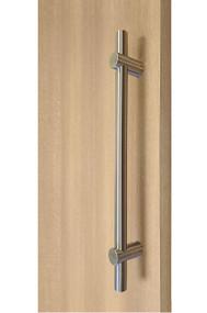 Adjustable Ladder Pull Handle - Back-to-Back (Brushed Satin Finish)