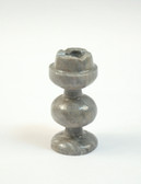 Chess Rook Replacement Playing Piece Gray Onyx Stone