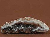 Small Tan Brown Geode