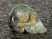 Skull Labradorite Hand Carved
