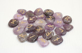 Amethyst Rune Stones NO POUCH
