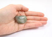 Large Green Purple Tumbled Fluorite Stone