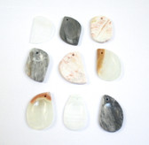 Onyx Wishing Worry Stone - 1 Stone