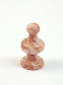 Chess Pawn Rose Pink Onyx Stone Replacement Playing Piece