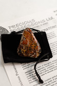 "Brecciated Jasper Tumbled Stone Large 1.5-2"" with Bag"