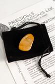 "Jasper Vogesite Tumbled Stone Medium Size 1-1.15"" with Bag"