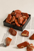 Red Jasper Tumbled Stones 1/4 Lb Size Large 1.25-1.85""