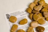 """Yellow Jasper 1/4 Lb Tumbled Stones Size Large 1.30-1.85"""""""