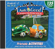 Auto-B-Good - Vol. 13-21 Printable Activity CD: Grades K-2