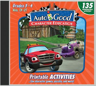 Auto-B-Good - Vol. 13-21 Printable Activity CD: Grades 3-4