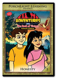 Adventures from the Book of Virtues Volume 05: Honesty (DVD) School Edition