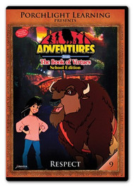 Adventures from the Book of Virtues Volume 09: Respect (DVD) School Edition