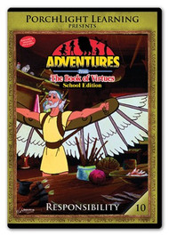 Adventures from the Book of Virtues Volume 10: Responsibility (DVD) School Edition